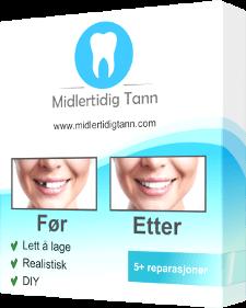 midlertidig tann produkt